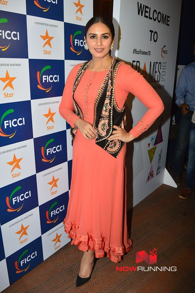 Huma Qureshi At Inauguration Of Ficci Frames 2018 Picture 5