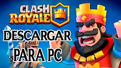 como descargar clash royale para pc - YouTube