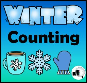 Boom Cards - Winter Counting - Numbers 1-10