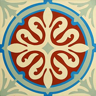 VN Chateau 4 Portugese cementtegel van Designtegels.nl