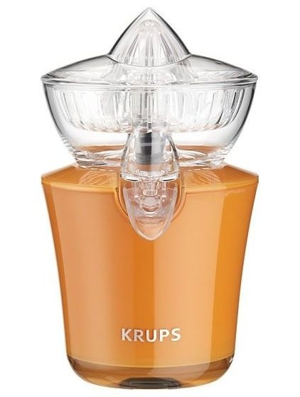 Krups Compact Citrus Press   How awesome is fresh-squeezed orange juice? Super awesome. This Citrus Press makes it easy to get.