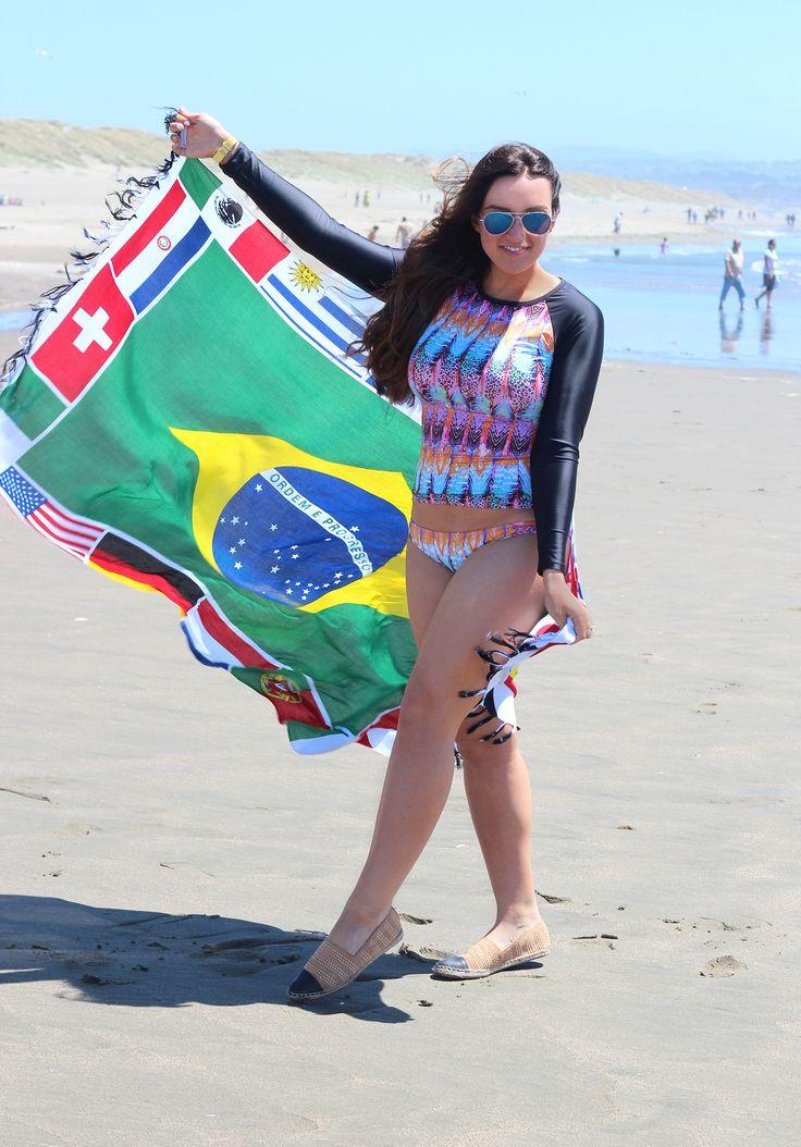Rio beach love - in my The Orchard Boutique swimwear