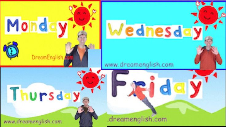 We have put all of the Weekday Songs in one video for learning. Learn them all, then check out this playlist for the individual video to play on each day of ...