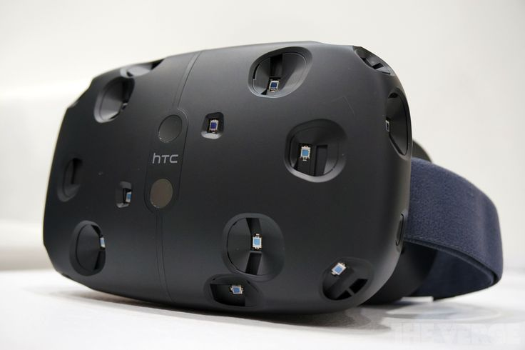 This is Valve's VR headset, the HTC Vive [Virtual Reality: http://futuristicnews.com/tag/virtual-reality/ VR Headsets: http://futuristicshop.com/category/video-glasses/]