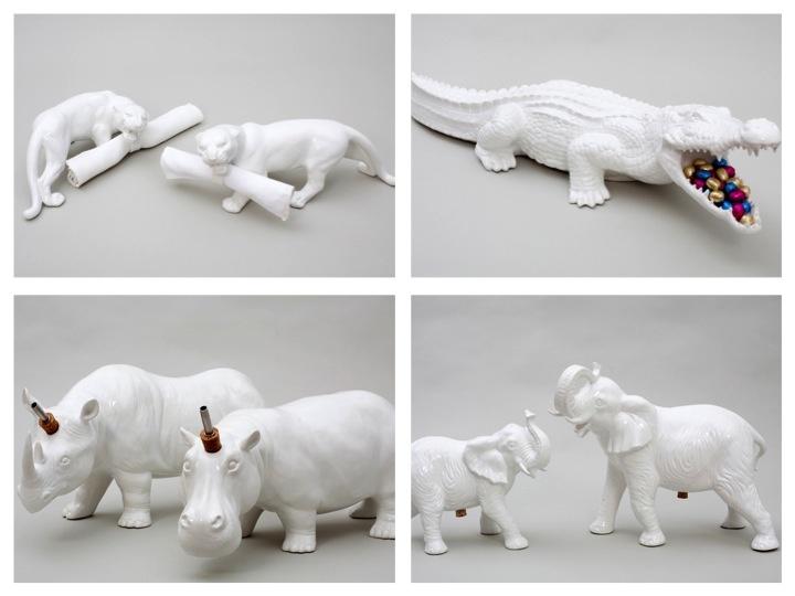 Amazing animal tableware by Emilie Kroner. Visit us: www.itchltd.com