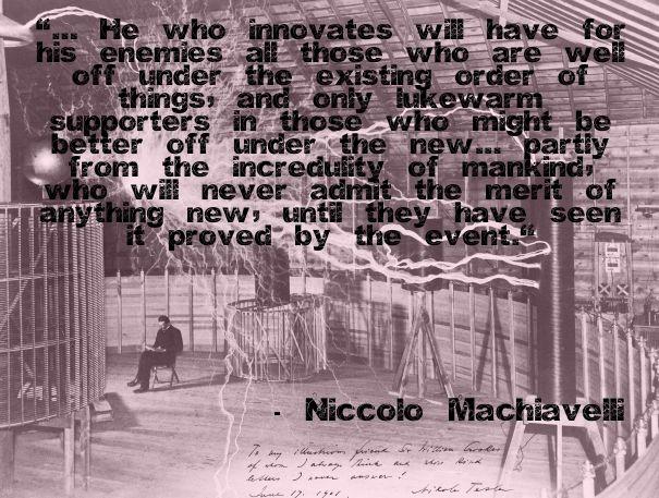 the prince machiavelli thesis statement