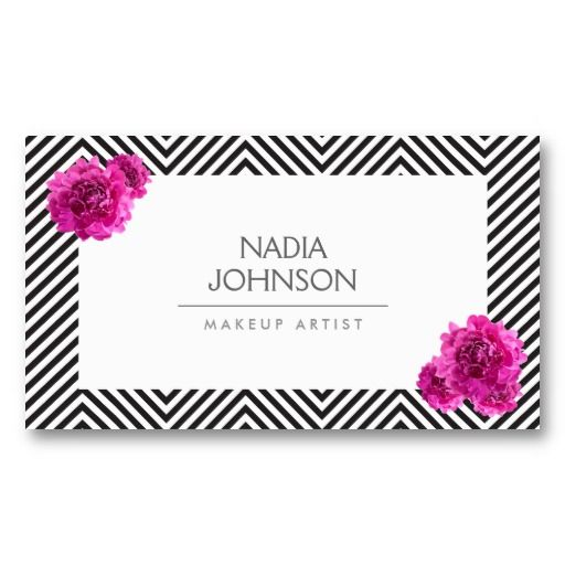 Business Card Template for Makeup Artists, Crafters, Hair Bows, Beauty Salons, Accessories, etc.
