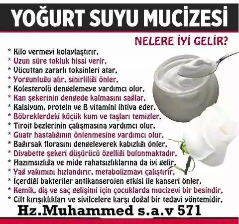 Yoğurt suyu faydaları