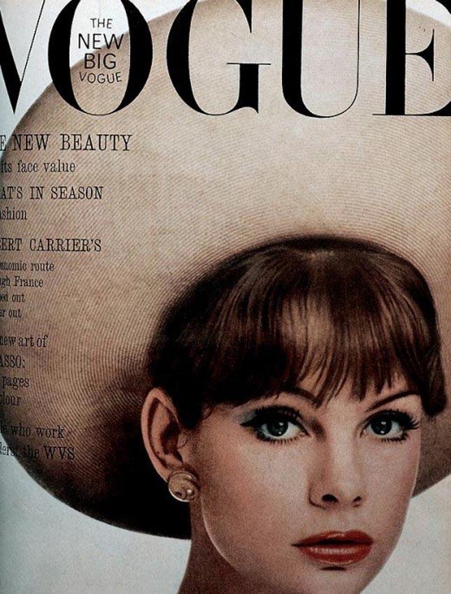 British vogue 1960's #vintage covers