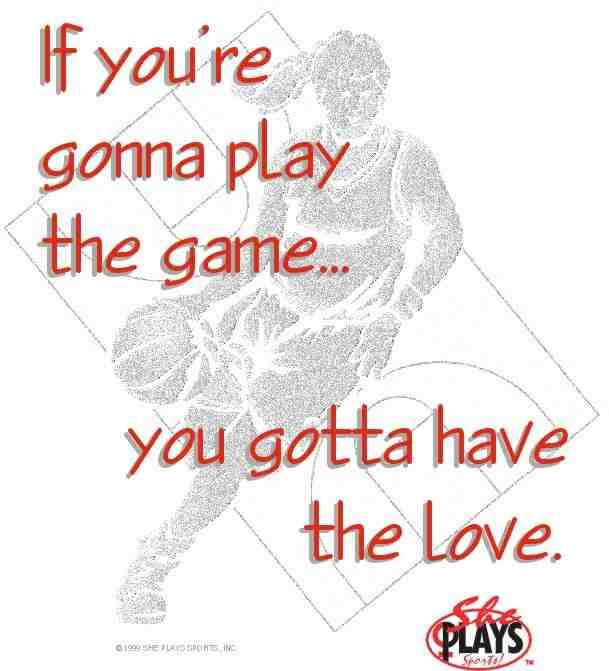 you have to love the game to play it and i do. i have been playing sense i was in 2nd grade