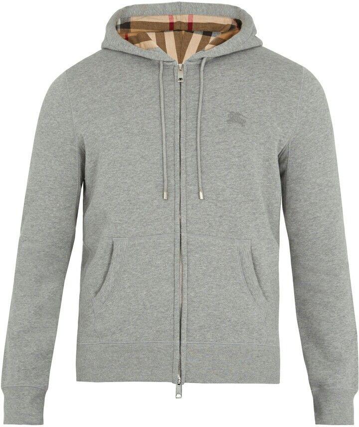 Burberry Slim Cut Grey Hoodie #menswear #classy #casualwear