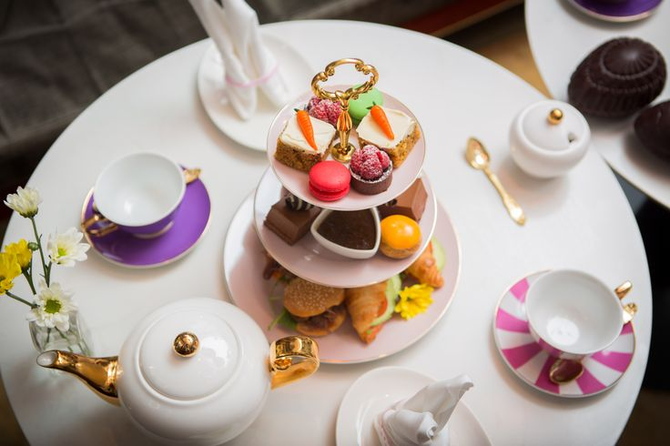 Easter themed High Tea, in partnership with Cristina Re luxury High Tea ware designer