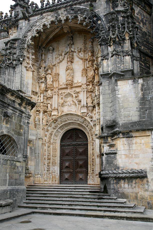 Church of the Convento de Cristo in Tomar. Portugal