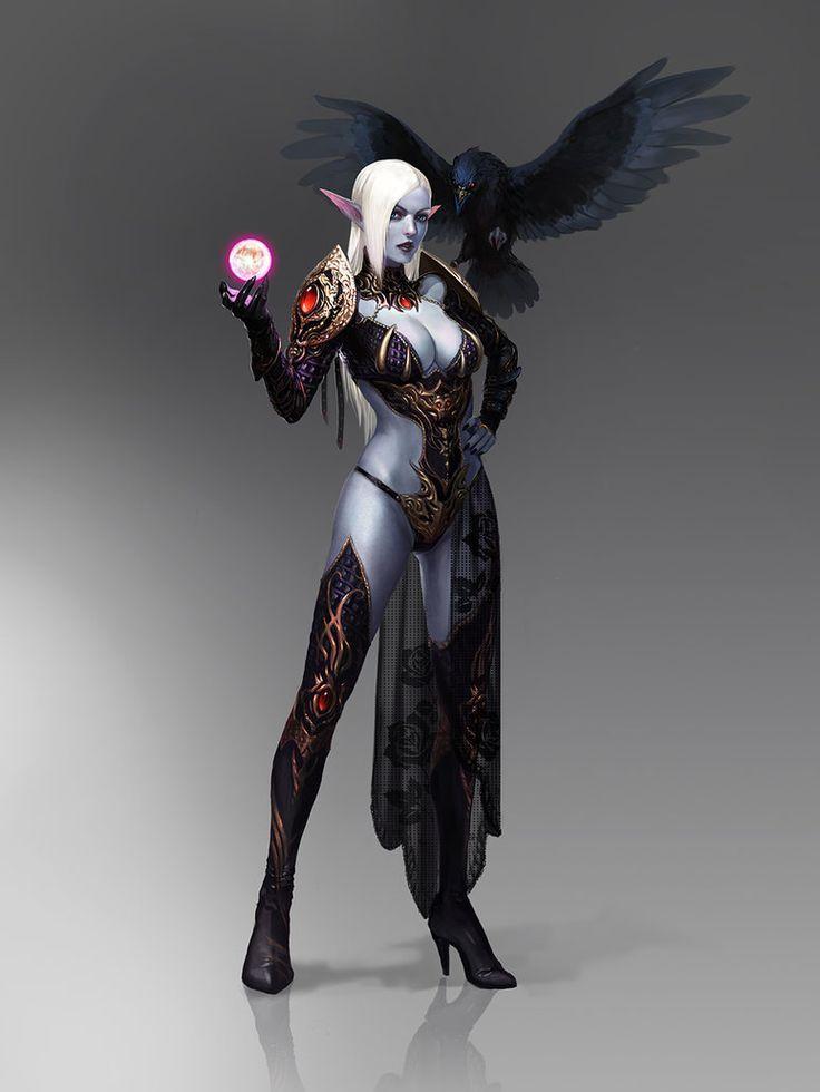 female assassin concept art - Google 검색