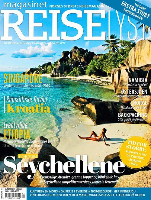 Stadig flere oppdager Magasinet Reiselyst - som nå er Norges største reisemagasin!