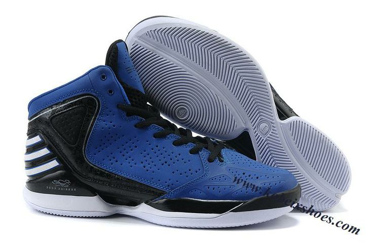 Adidas AdiZero Rose 773 Signature Shoes Blue Black For Sale
