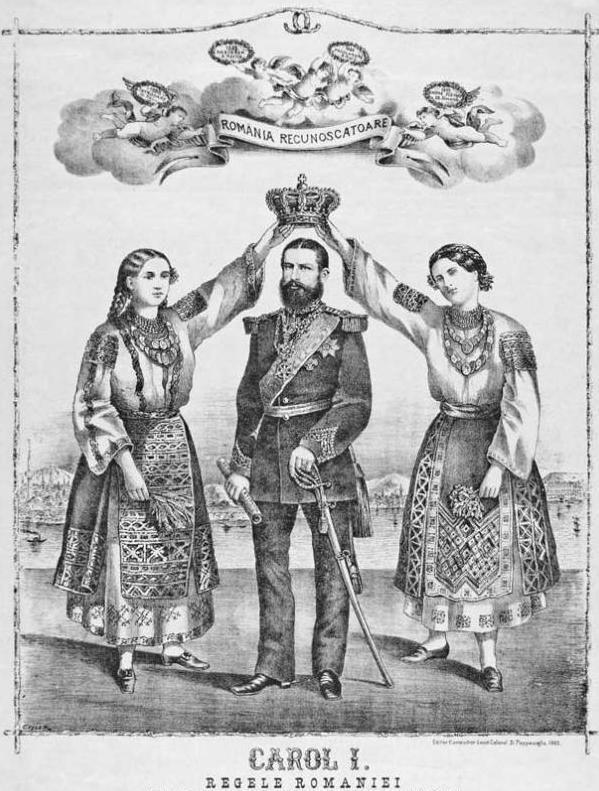 Independență și monarhie. Coroana de Oțel, povestea unui simbol