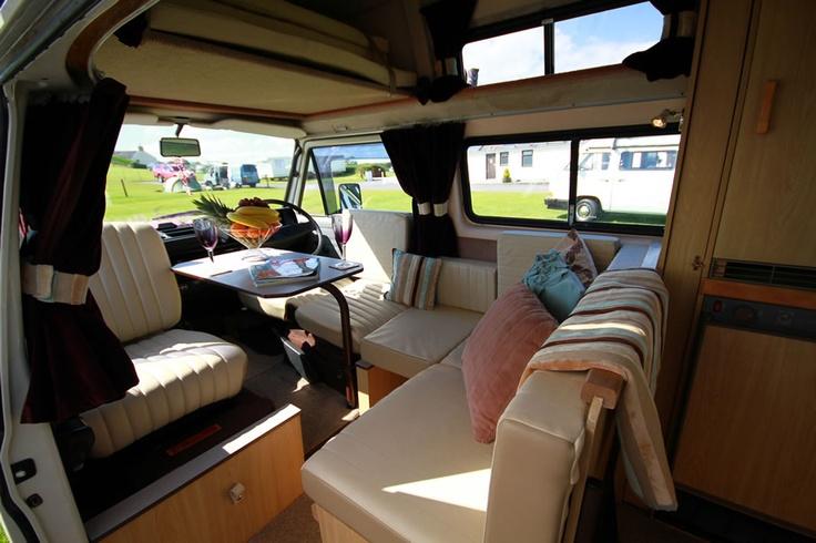 vw t25 campervan hire - Binky