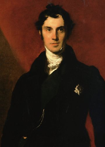 Very handsome man from Regency time period.