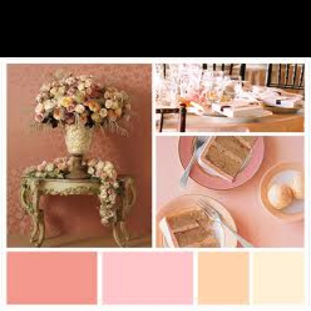 My wedding colors and we are using gray <3