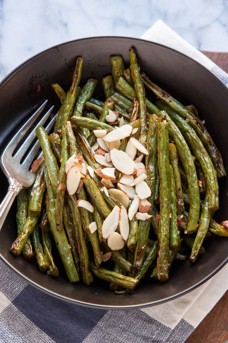 Recipe: Roasted Green Beans with Harissa — Side Dish Recipes from ...