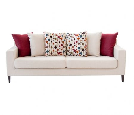 Love the colors of this sofa