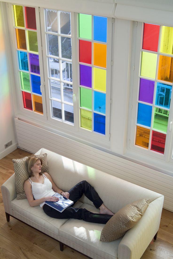 7 best living room decorative window film images on. Black Bedroom Furniture Sets. Home Design Ideas