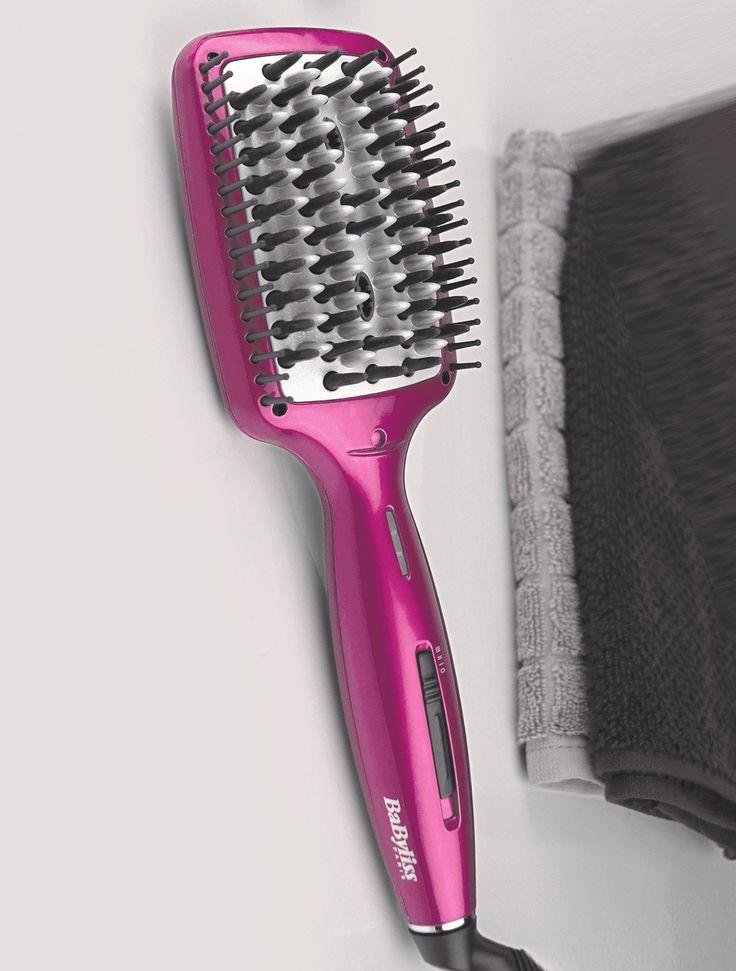 Le leader BaByliss se lance enfin sur le marché de la brosse lissante avec sa brosse lissante HSB100E. Nous l'avons testé ! Notre avis : la Liss Brush 3D est