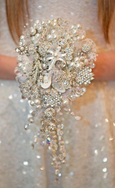 Shower Crystal Bouquet