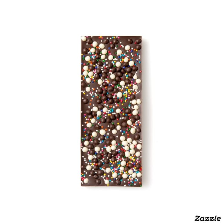 Chocolate Crisp and Sprinkles Dark Chocolate Bar