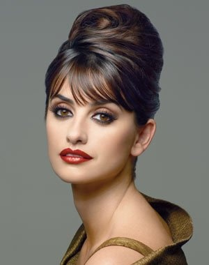 Wedding makeup inspiration -  Love the eyes, the lips are too dark, this makes her look a lot more mature... old.