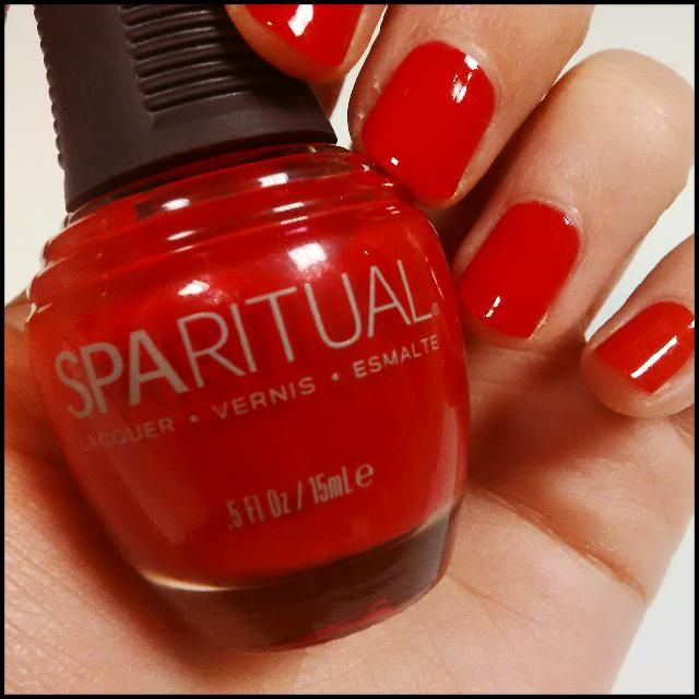 #boutiquenails Hot Blooded ; Spa Ritual