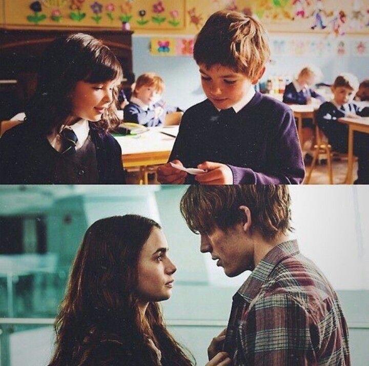 """Siempre juntos... <3 <3 <3 Escena de la película """"Los imprevistos del amor"""""""