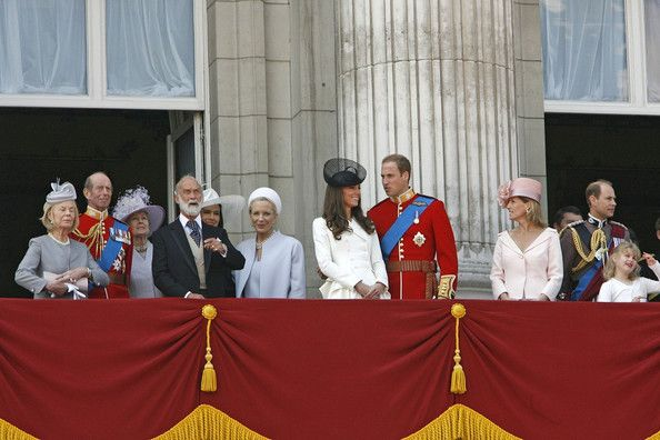 Kate Middleton Photos - *NO GERMANY/SWITZERLAND RIGHTS*.Trooping The Colour- The Queen's Official birthday held at Buckingham Palace. - Trooping The Colour for the Queen 1