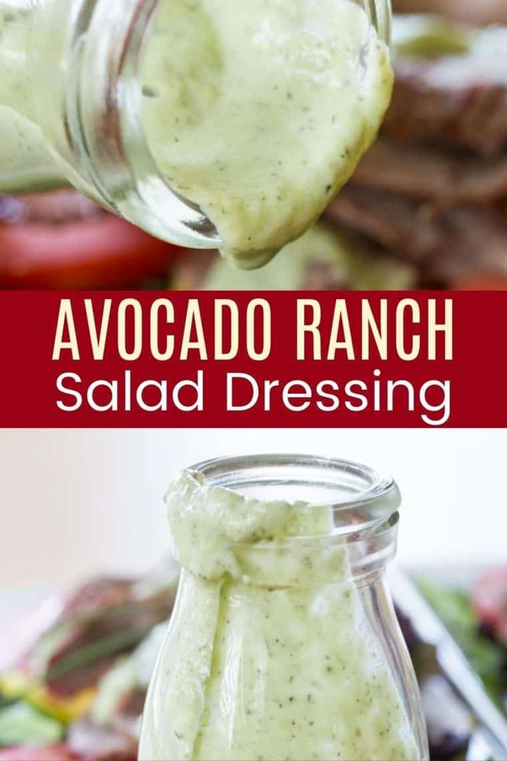 Avocado Buttermilk Ranch Salad Dressing Cupcakes Kale Chips Recipe In 2020 Low Carb Salad Dressing Buttermilk Ranch Salad Dressing Ranch Dressing