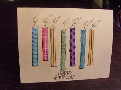Scrapbook Italy: Cartolina di compleanno.