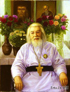 Гайдук Ирина - Архимандрит И.Крестьянкин.Исправленный задний план.
