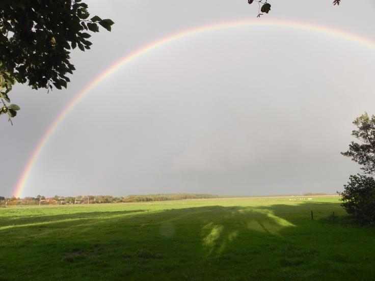 rainbow on Ameland