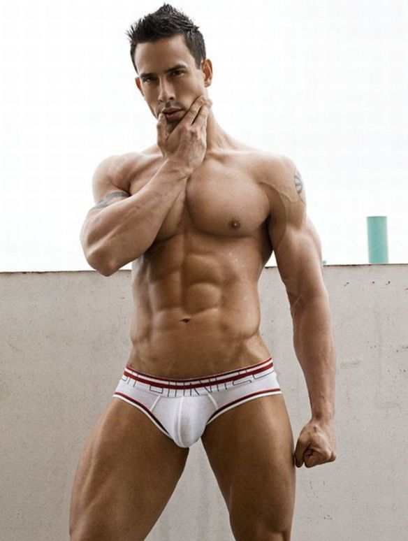 from Marley gay male inwhite undies