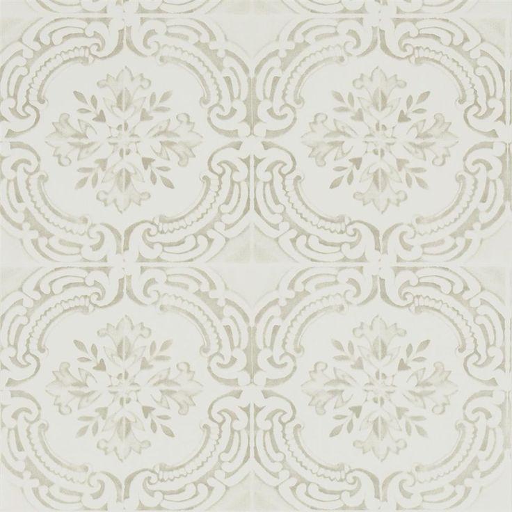 azulejos - ivoire wallpaper | Christian Lacroix
