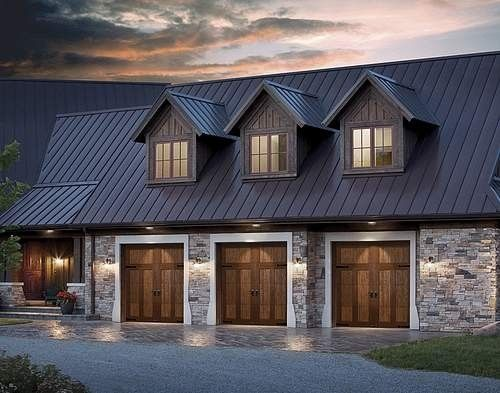 74 best metal roofs images on pinterest arquitetura for Garage auto nice