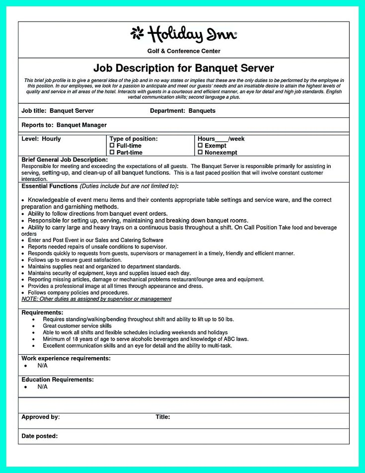 awesome Cocktail Server Resume Skills to Convince Restaurants or Café, Check more at http://snefci.org/cocktail-server-resume-skills-convince-restaurants-cafe