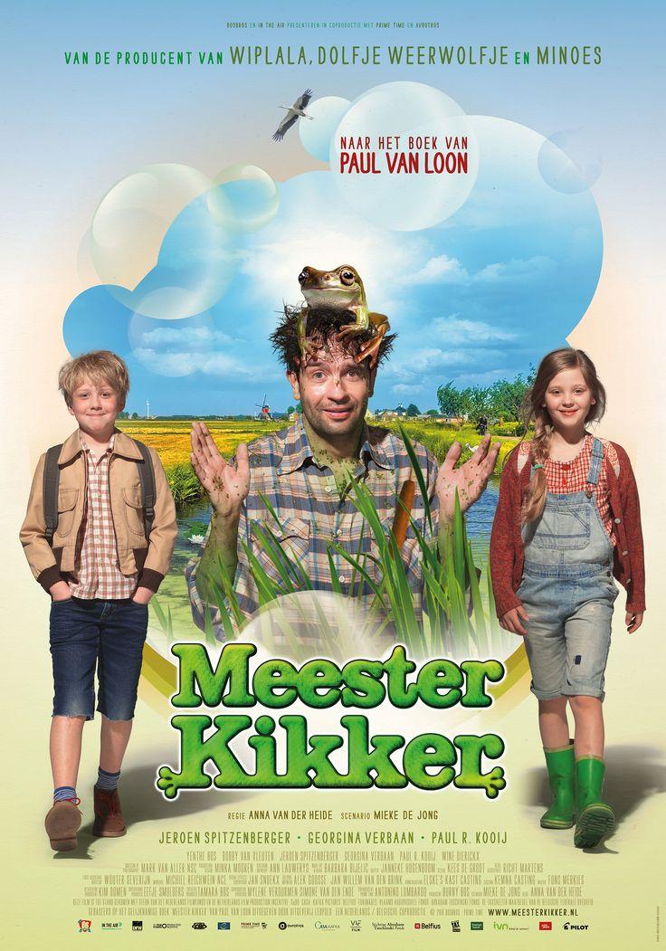 """Zondag 23 oktober om 14:00 uur """"Meester Kikker"""" in Filmhuis Heemskerk. 'Soms ben ik een kikker. Dat is mijn supergeheim. Niemand mag het weten, behalve jullie.' Sita, Wouter en de andere kinderen in de klas lachen. Leuke grap van de meester. Totdat hij op een dag de klas in komt met kroos in zijn haar.  Trailer: https://www.youtube.com/watch?v=6Tu0M0XKQMU"""