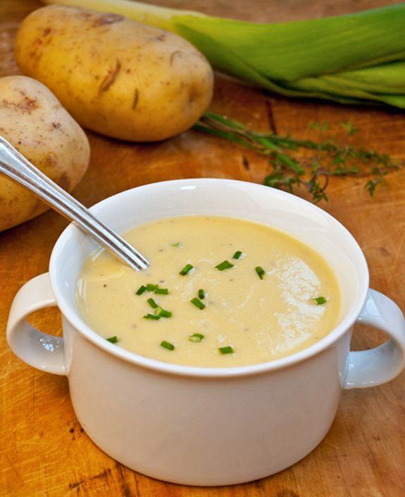 Potato Leek Soup - Once Upon a Chef