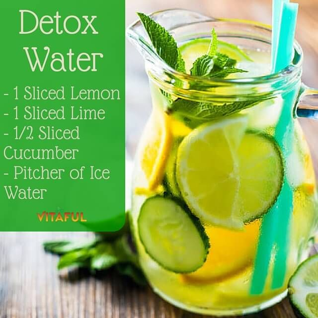 If you are ready to lose weight, restore your stomach health, enhance your skin quality and feel young and refresh again, then this Slim Down Detox Water is just for you...
