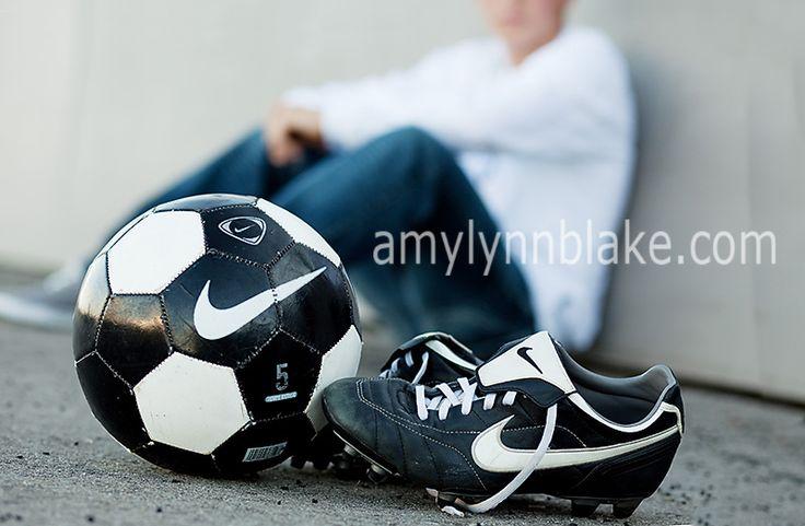 soccer posing