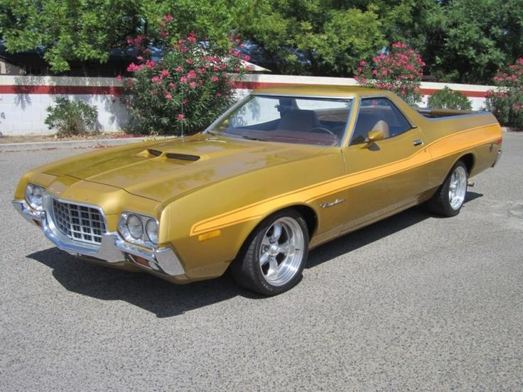 1972 Ford Ranchero .....Looks like a Torino.... Yeah, baby!