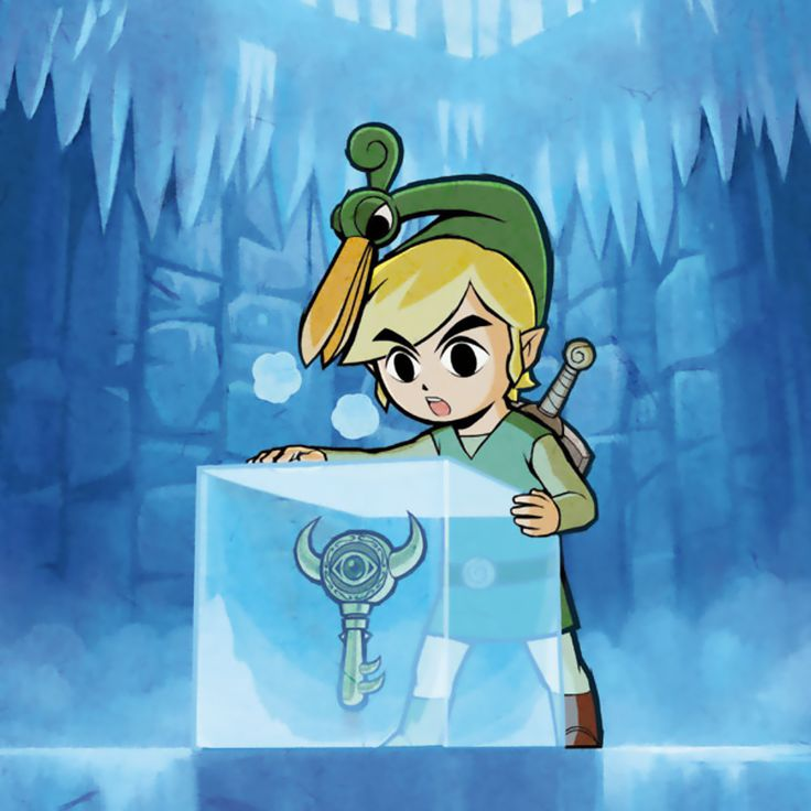 The Legend of Zelda: The Minish Cap, Link and Ezlo