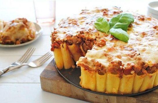 Simpel cirkelformet opskrift med pasta, som vil imponere venner og familie