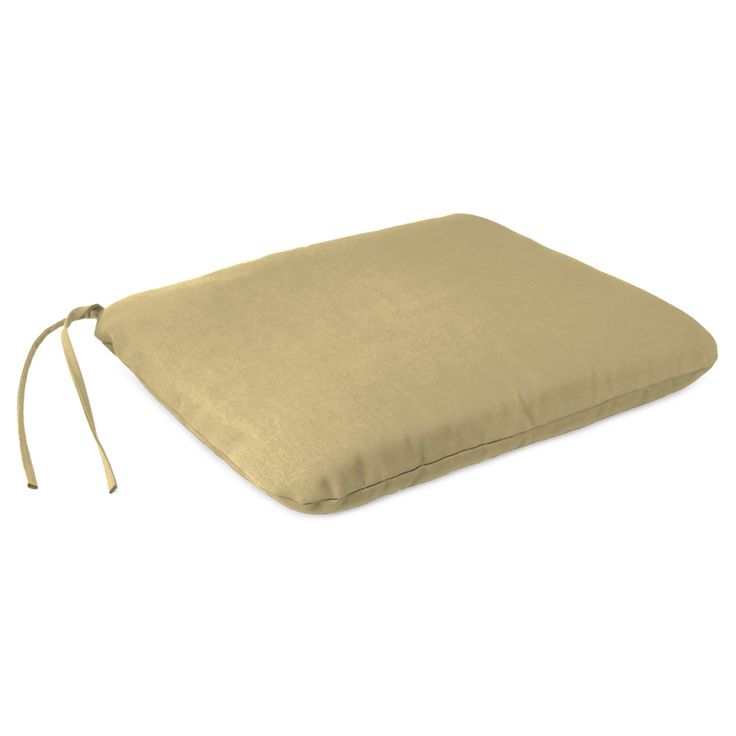 Outdoor Dining Seat Pad - Warm Beige - Jordan Manufacturing